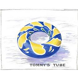Personalized Tommy's Tube Watercolor Fine Art Print