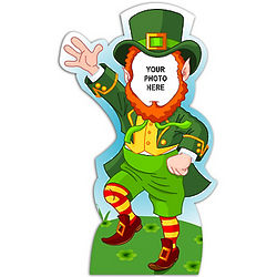 Paste Your Face Leprechaun Standee