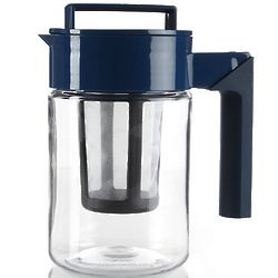 Blue Infuser Tea Pitcher