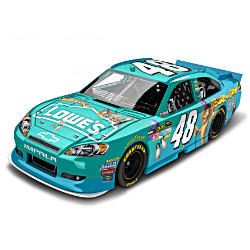 "NASCAR Jimmie Johnson No. 48 ""Madagascar 3"" Diecast Car"