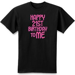 Personalized Happy Birthday To Me T-Shirt