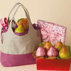 Pink Pear Tote Gift