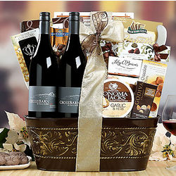Paul Hobbs Crossbarn Collection Gift Basket