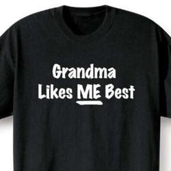 Grandma Likes Me Best T-Shirt