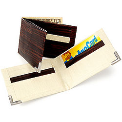 Make Your Own Duct Tape and Wood Wallet Kit