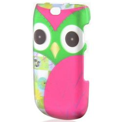 Owl Rubberized Phone Case for Samsung Rugby 3