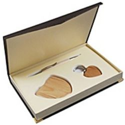 Engraved Bridal Party Heart-Shaped Gift Set