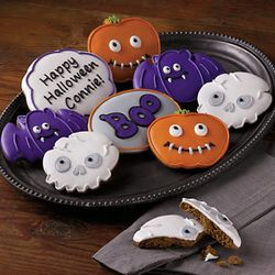 My Halloween Decorated Cookies Gift Box