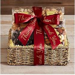 Nuts and Sweets Thank You Gift Basket