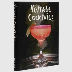 Autographed Vintage Cocktails Book