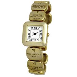 Women's Ten Commandments Watch