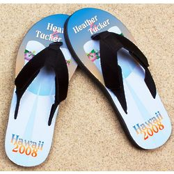 Personalized Hawaiian Wedding Dress Pro Fit Sandal
