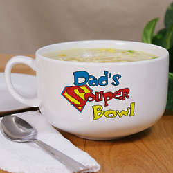 Personalized Ceramic Souper Bowl Soup Bowl