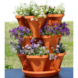 Stackable Flower and Herb Garden