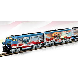 America's Freedom Flyers WWII Fighter Plane Train Set