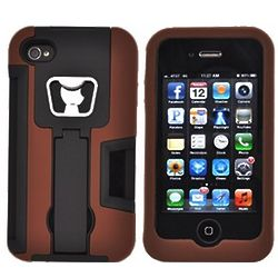 Silicone iPhone Case with Bottle Opener