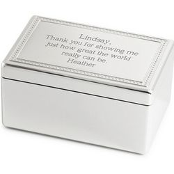 Love Me Tender Rectangle Music Box