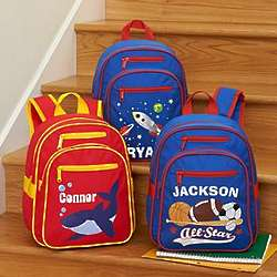 Boy's Personalized Create Your Own Backpack