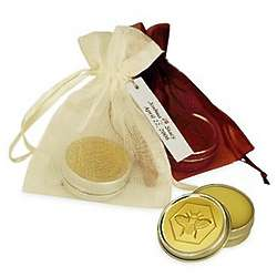 Honey Bee Mango Lip Butter in Organza Bag