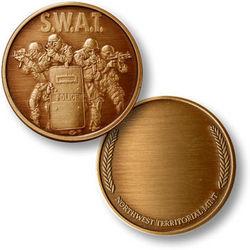 SWAT Keepsake Challenge Coin