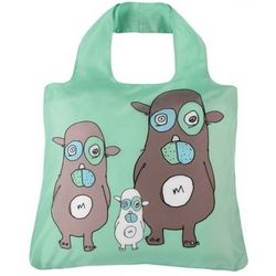 Kid's Baa, Maa, Paa Reusable Shopping Bag