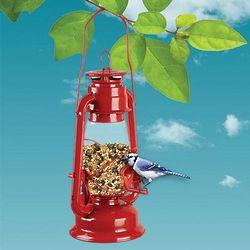 Hurricane Lantern Birdfeeder