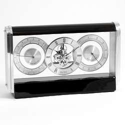 Wood Desktop Clock Weather Station