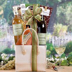 Blakemore White Wine Duet Gift Basket