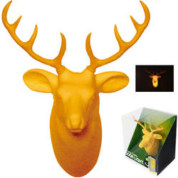 Deer Head Door Light