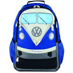 Volkswagen Blue Camper Bus Backpack