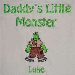 Little Monster Personalized T-Shirt