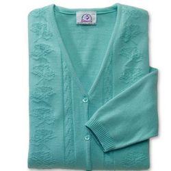 Decorative Adaptive Open Back Cardigan