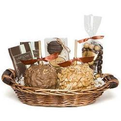 Gourmet Caramel Apple Gift Basket