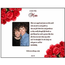 "Mother Personalized ""Angel"" Poetry Print"