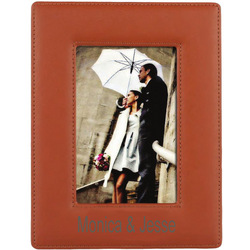 Tropicana Leather Photo Frame