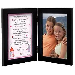 Personalized Mommy Valentine Poem Frame