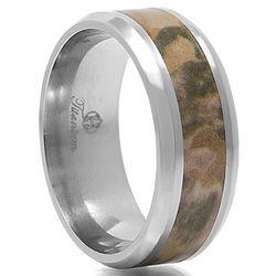 Venator Titanium Camouflage Ring
