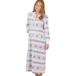 Cabin Fever Zip Front Robe