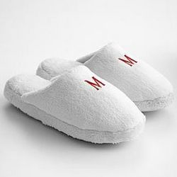 Women's Therapeutic Monogram Slippers