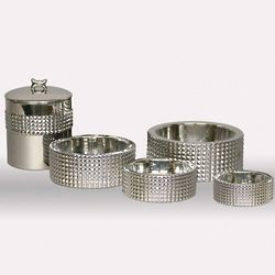Studded Canister Dog Feeding System