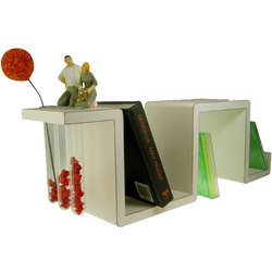 Growing Together Shelf with Tube Vases