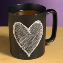 Chalk Talk Chalkboard Coffee Mug