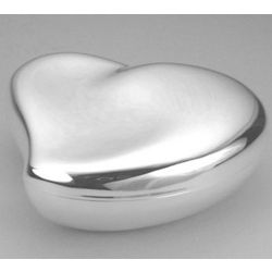 Free Form Heart Engraved Jewelry Box