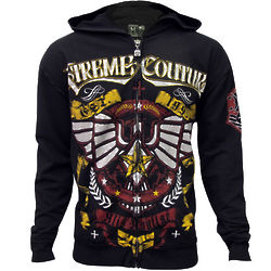Xtreme Couture Glide Zip-Up Hoodie