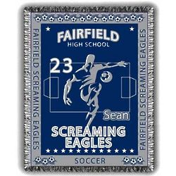 Extreme Personalized Soccer Afghan