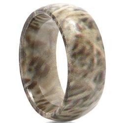 Woodsman Titanium Camouflage Ring