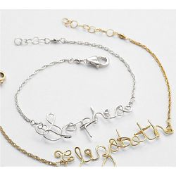 Personalized Wire-Wrapped Bracelet