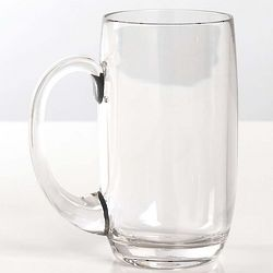Clear Polycarbonate Beer Mug Set