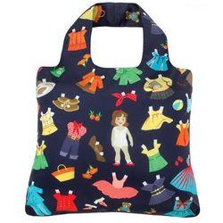 Kid's Paper Dolls Reusable Shopping Bag