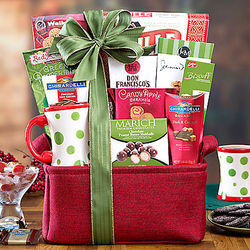 Coffee and Cocoa Collection Gift Basket
